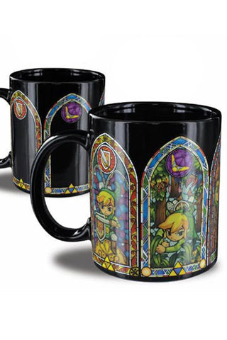 Legend of Zelda Heat Change Mug Link