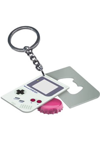 Nintendo Game Boy Keychain with Bottle Opener Game Boy