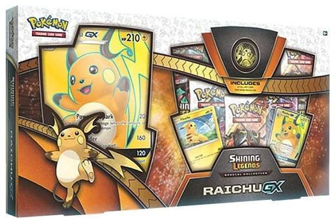 Pokémon TCG: Shining Legends Special Collection - Raichu-GX