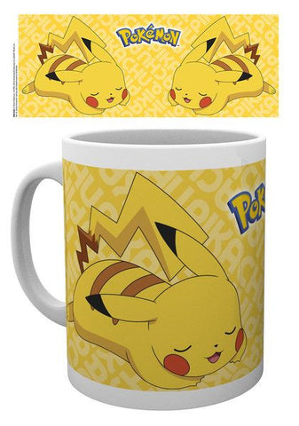 Pokemon Mug Sleepy Pikachu