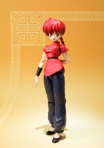 Ranma 1/2 S.H. Figuarts Action Figure Ranma Saotome (Girl/Fille Version) 13 cm