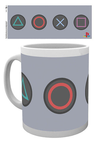 Sony PlayStation Mug Buttons