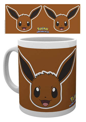 Pokemon Mug Eevee Face