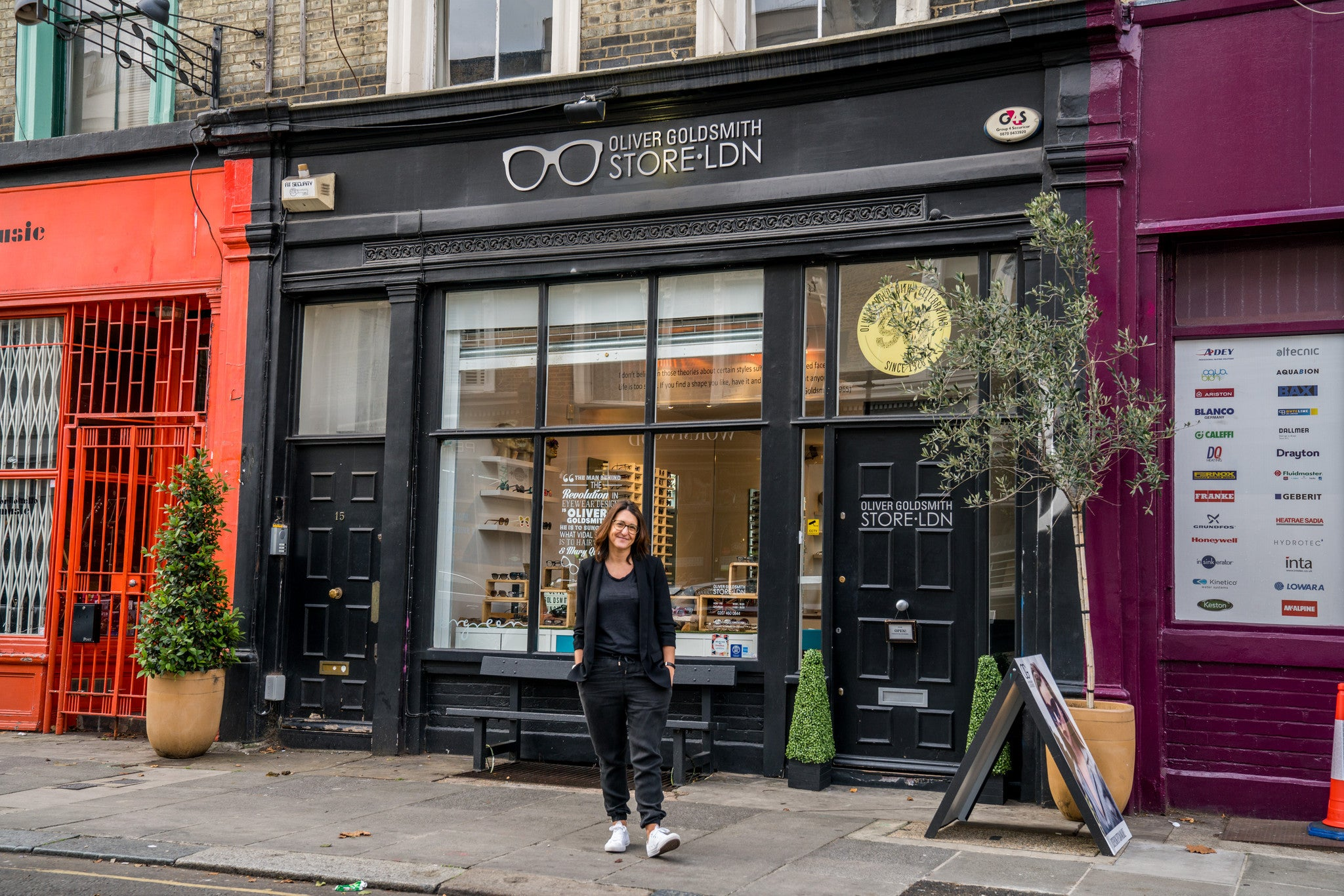 A conversation with: Claire Goldsmith (Oliver Goldsmith Eyewear)
