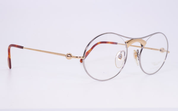 RARE VINTAGE ASTON MARTIN GOLD PLATED ORIGINAL EYEGLASSES