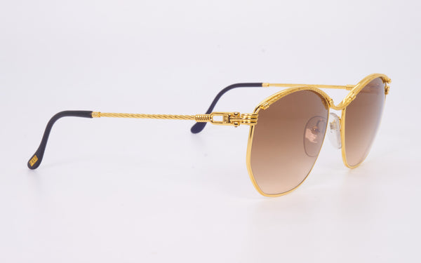 "FRED CYTHERE 57-16 ALL 24kt GOLD PLATED ""PROTOTYPE"" SUNGLASSES"