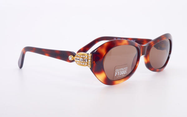 GIANFRANCO FERRE 377/S EMBELLISHED SUNGLASSES