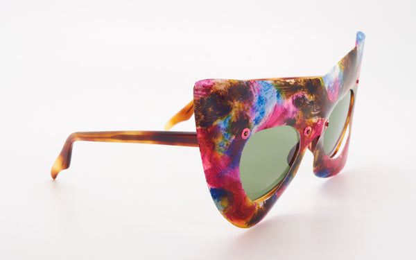 "OLIVER GOLDSMITH ""BATWING"" SUNGLASSES"