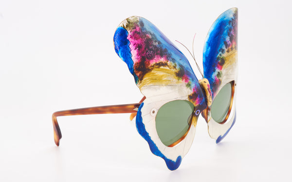 "OLIVER GOLDSMITH ""BUTTERFLY"" SUNGLASSES"
