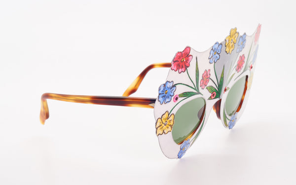 "OLIVER GOLDSMITH ""FLOWERS"" SUNGLASSES"
