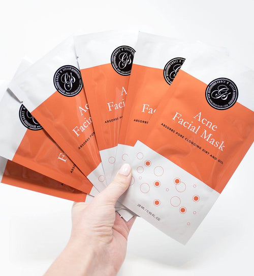 Acne Treatment Facial Sheet Masks
