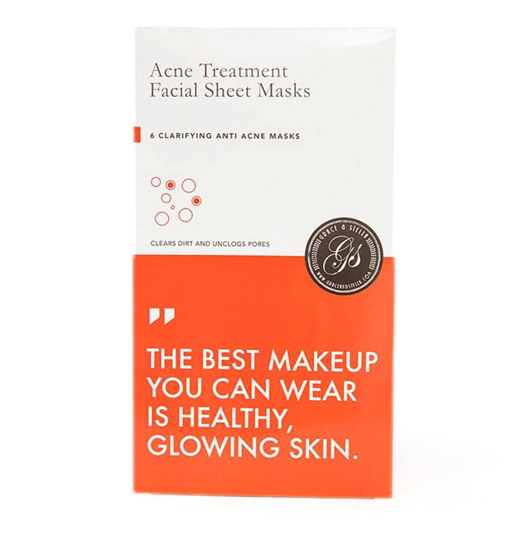 Acne Treatment Facial Sheet Masks grace & stella co.