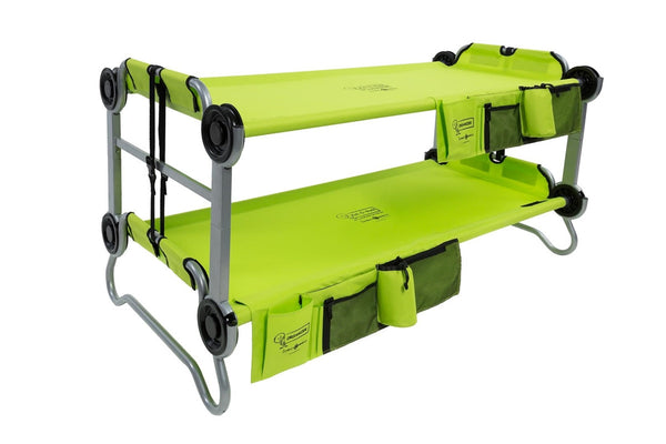 Kid-O-Bunk Green portable campbed