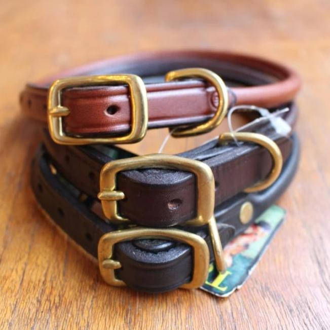 Rolled Dog Collar