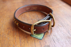 Clincher Collar in Oakbark