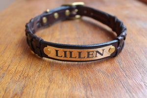 Engraved Name Plate For Dog Collars