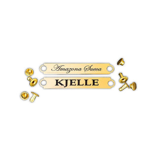 Engraved Name Plate - Small