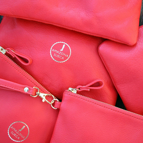 Wristlet - Red