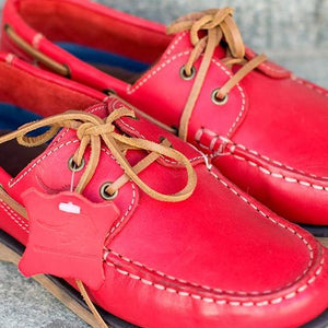 VELA  Red Leather