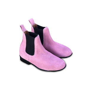 CRIANCA Kids Boots Pink Suede (Size 29,30 & 33)
