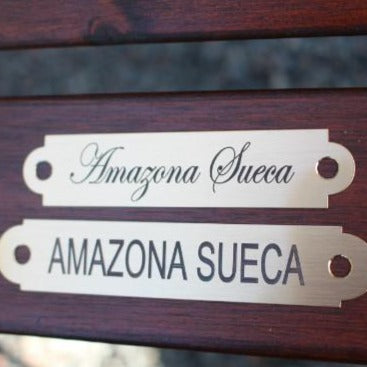 Engraved Name Plates For Halters