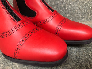 MISTRAL Red Leather (Size 37)