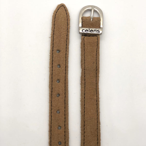 Light Brown Suede Spur Straps