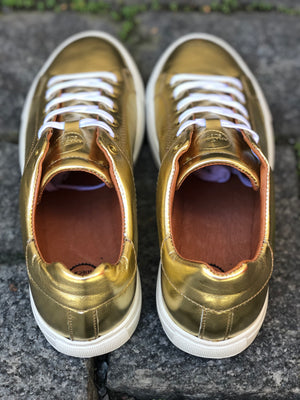 LOW SNEAKERS Gold