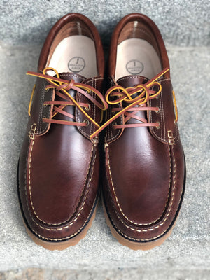 BARCO Boat Shoes Chestnut Brown