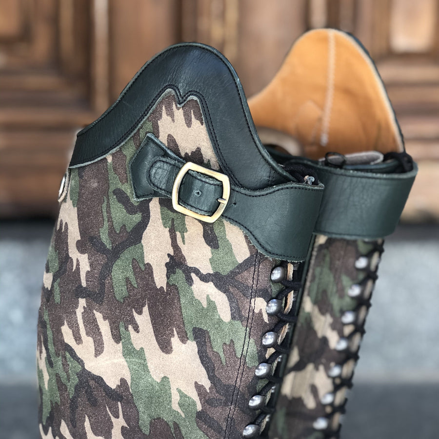 BIA - Camouflage suede  - Size 40 - Sample Sale!