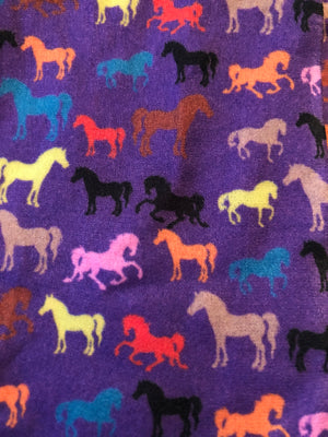 Multi Horses Knee Socks