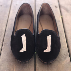 AUGUSTA Ballerina Coffee Brown Suede