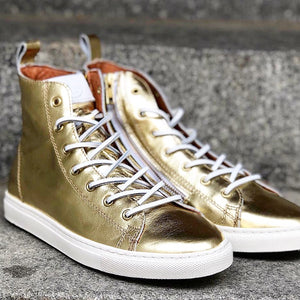 HIGH SNEAKERS Gold