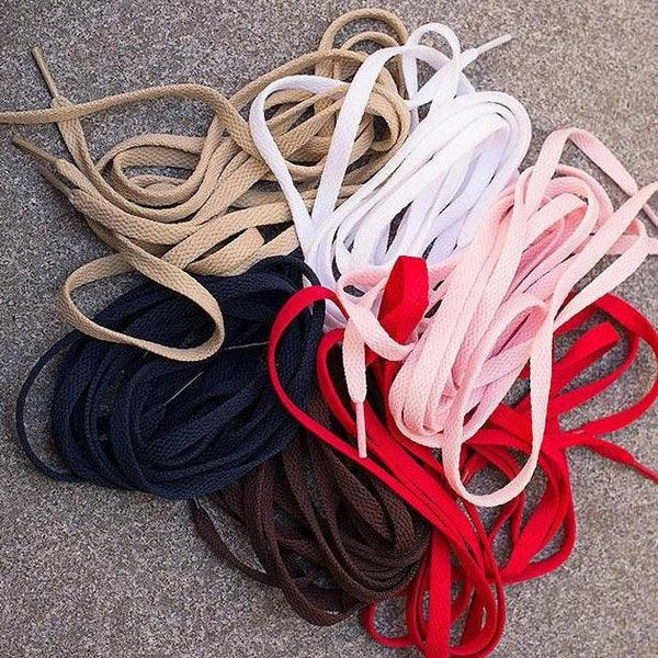 Flat Shoelaces in Polyester