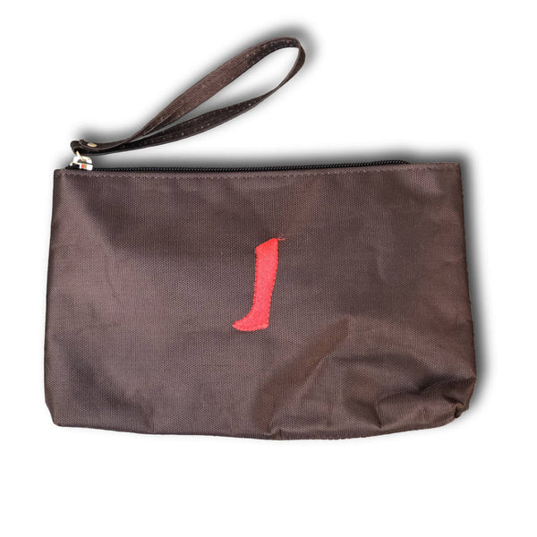 wristlet coffee brown brun