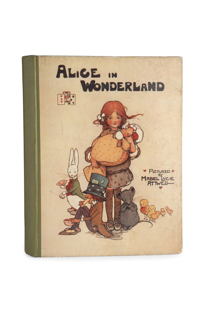 Alice In Wonderland. Pictured by Mabel Lucie Attwell.