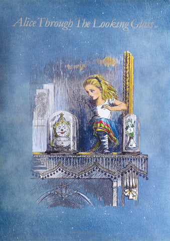 Rackham Alice Limited Edition Art Print by Alice Through The Looking Glass