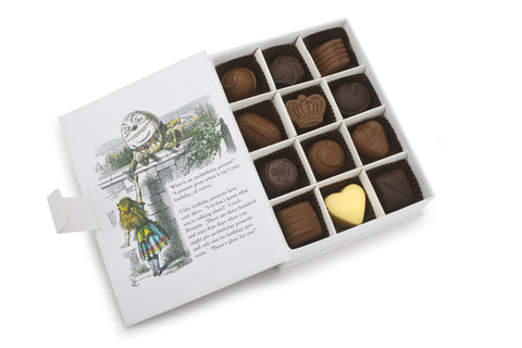 Charbonnel et Walker Alice Through The Looking Glass chocolate gift box