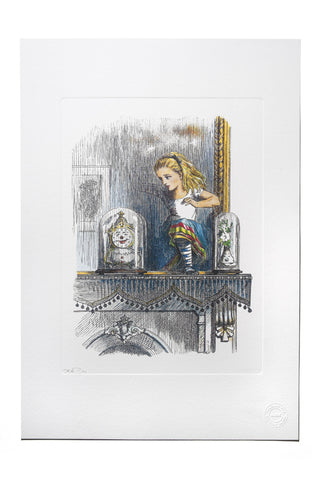 Alice Through The Looking Glass Limited Edition Fine Art Print