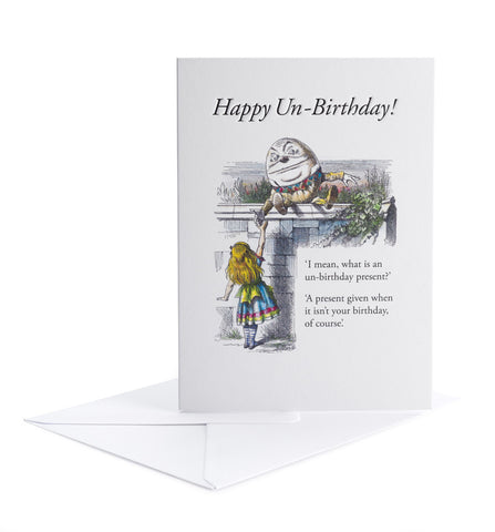 Set of 3 cards - The Un-Birthday Card!