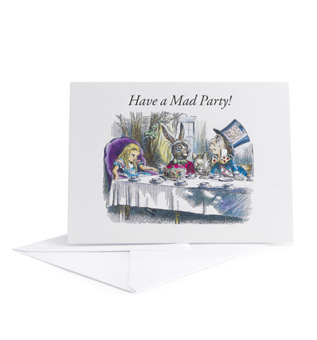 Set of 3 Cards - Have a Mad Party, Happy Un-Birthday & Queen For The Day!