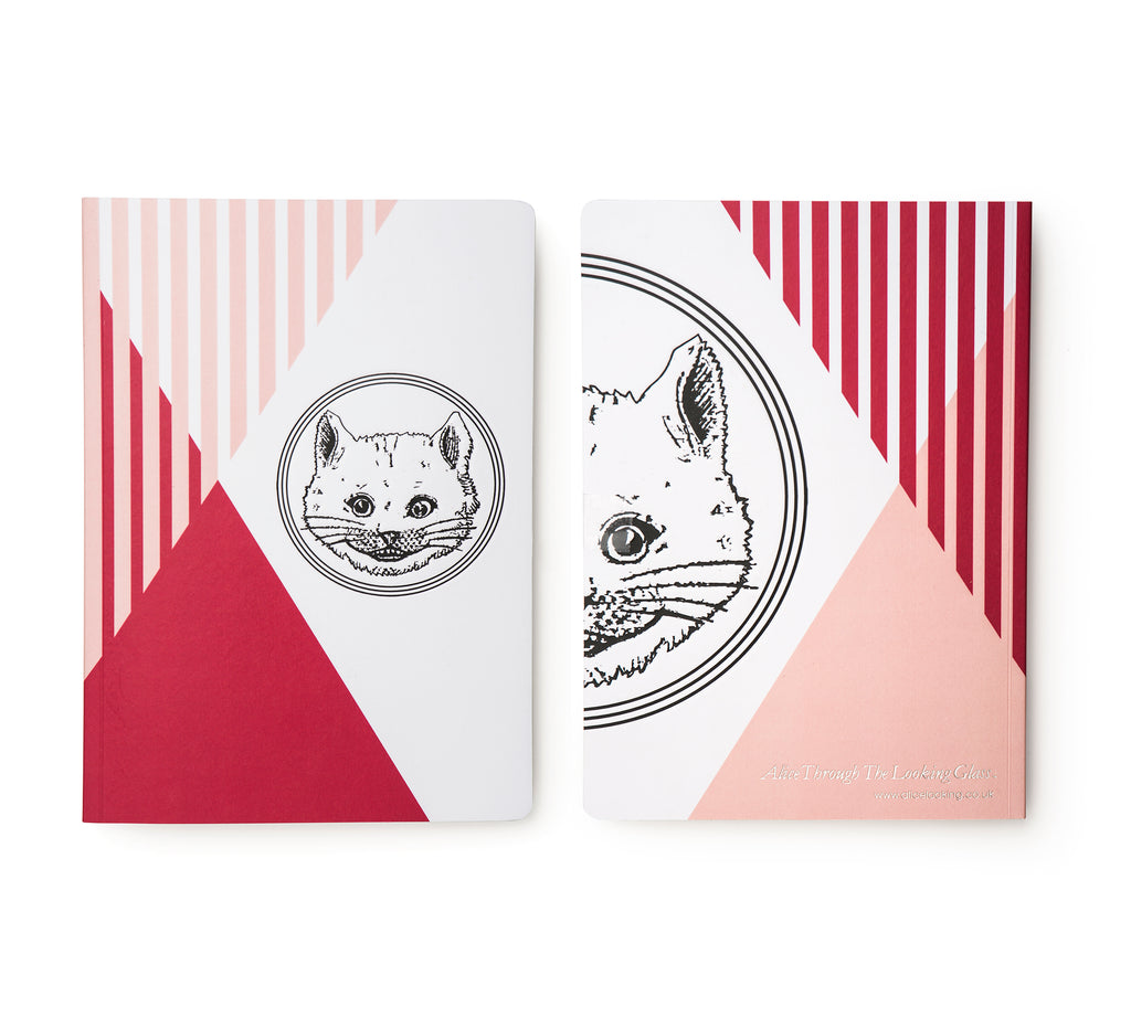 Fiery Pink Luxury Cat Notebook