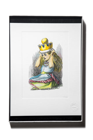 Salvador Dali - Alice In Wonderland original heliograph  published 1969 Limited Edition