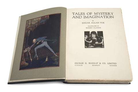 Tales of Mystery & Imagination E.A. Poe - Illustrated by Harry Clarke