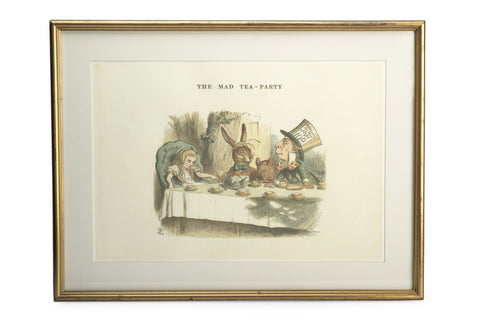Mad Tea Party Full Colour Mounted Print