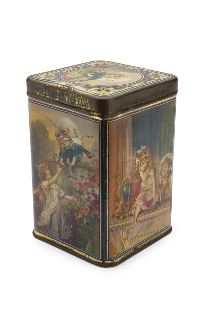 Mazawattee Alice Tea Caddy c1900