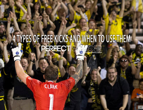 4 types of free kicks