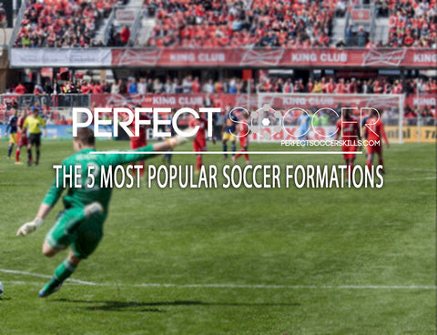 5 Most Popular Soccer Formations