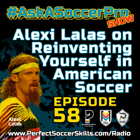 Alexi Lalas on reinventing yourself in American Soccer