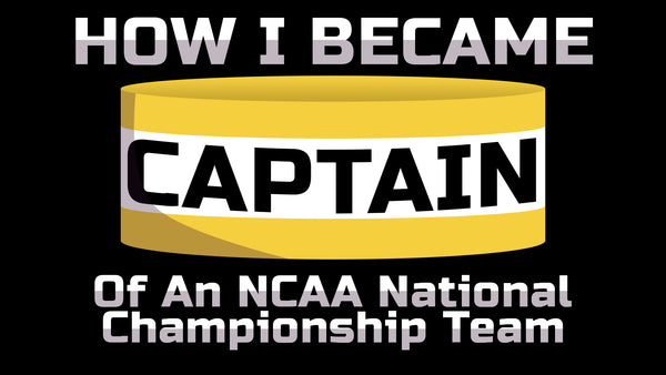 became a captain of a NCAA National Championship team